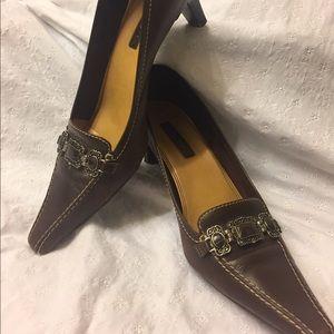 Brown Low Heels